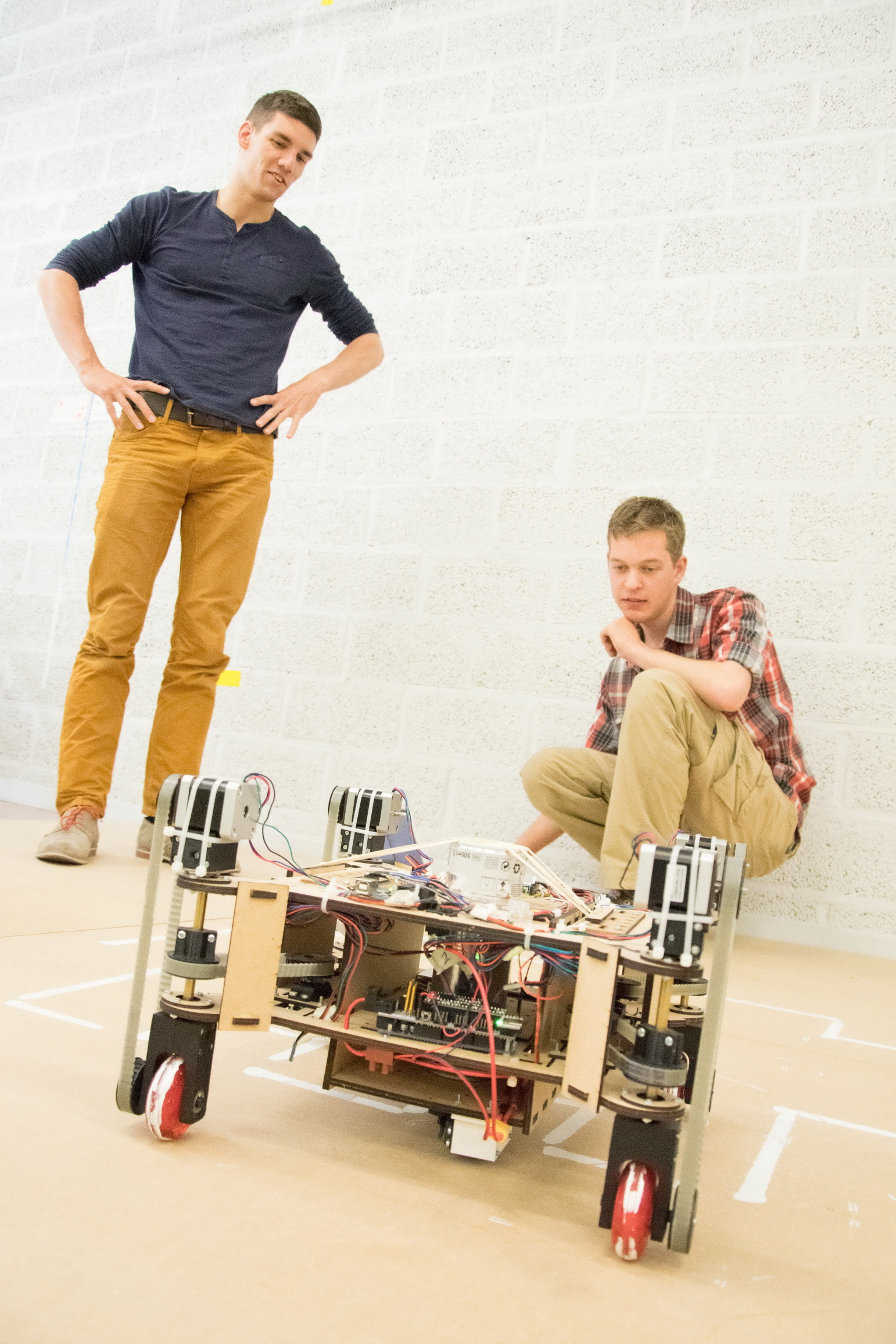 bachelor thesis robotics Discover how a bachelor of science in engineering with an emphasis in  robotics from gcu can prepare you for a career in the fast-evolving world of  robotics.