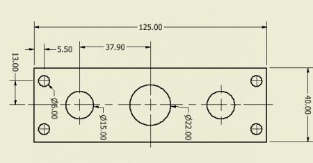 draai-lineairelagerhouder